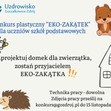 """Powiatowy Konkurs Plastyczny """"Eko Zakątek"""""""