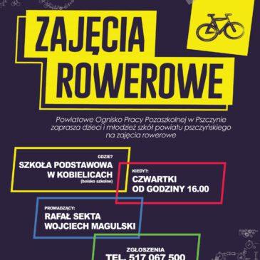Zajęcia rowerowo-kolarskie z POPP i UKS AVATAR Kobielice
